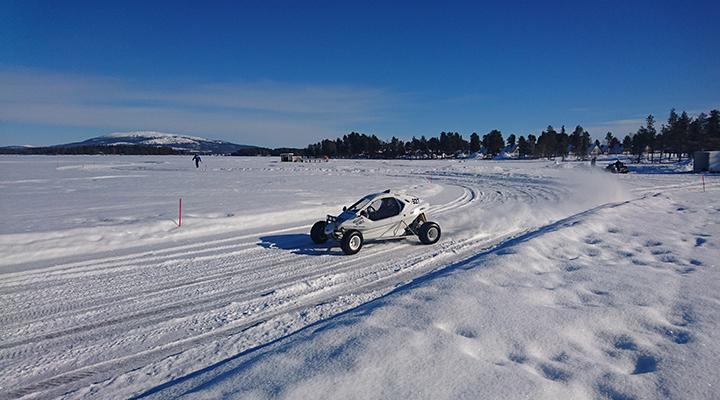 Speedcar Xtrem hos Experience Arjeplog