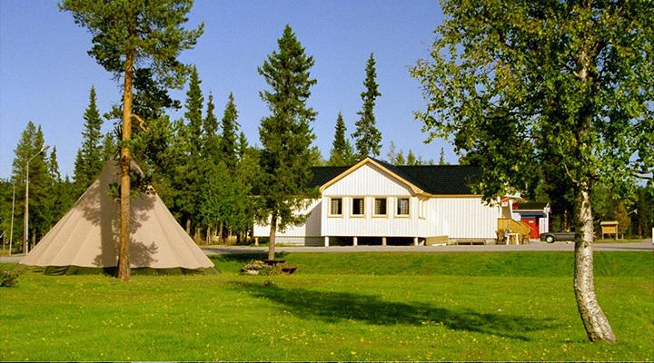 Laisvall fjällcamp camping