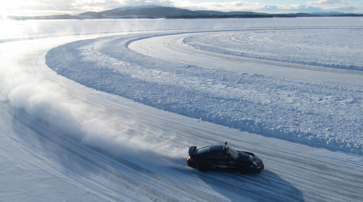 Lapland Ice Driving