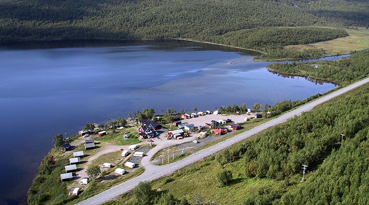 Sandvikens Fjällgård Camping & Hütten
