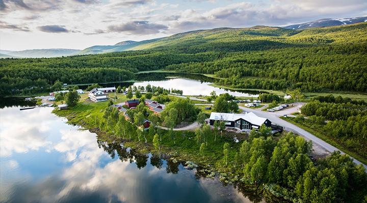 Vuoggatjålme Camping & Hütten