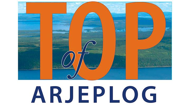 Top of Arjeplog