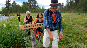 Discover the least hiked part of Kungsleden